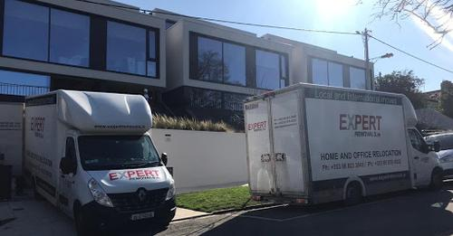 Cost of Dublin movers